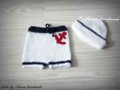 Sailor baby outfitNautical Baby OutfitSailor by Amaiahandmade