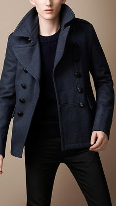$1,050 - Awesome pea coat from Burberry