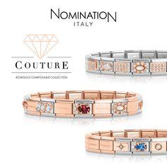 Nomination Charms, Nomination Bracelet, I Love Jewelry, Rose Gold, Italy, Jewellery, Bracelets, Ideas, Fashion