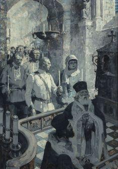 MEAD SCHAEFFER: Greek Wedding , Oil on canvas.