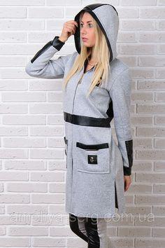 Модные женские Брендовый гламурный зимний спортивный костюм Турция S M L XL XXL 50 52 54 серый для повседневной носки