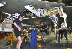 Skyhawk restoration | 30 Oct 2011. #Skyhawk #MOTAT #NZ #Aviation #Planes www.motat.org.nz