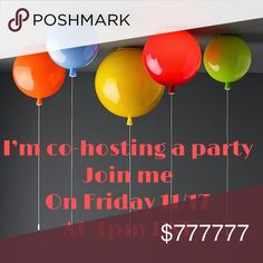 PARTY ALERT!!!!! 🎉🎉 Join me on Friday November 17th at 4pm PST ( 7pm EST ) Party Theme to be announced soon!!! Spread the word tag you PFF so we can have a great host pick selections!!!! Xoxo Jenya party Bags