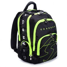 Gearbox Legend Racquetball Backpack – Black/yellow