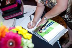 Photo Guest Book | Pauleenanne Design | Ultimate Images Photography