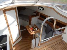 Wilt u een Makma Caribbean 31 kopen? Bunk Beds, Caribbean, Boating, Furniture, Home Decor, Decoration Home, Loft Beds, Ships, Room Decor