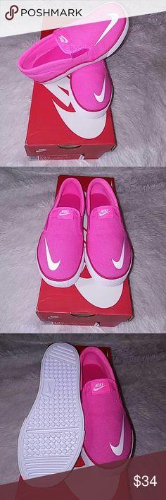 Nike Slip-ons Pink Nike Slip-ons size 12.5 little kids brand new Nike Shoes Sneakers