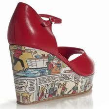 Comics Shoes! DIY