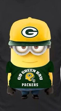 Of course minions are Packer fans!