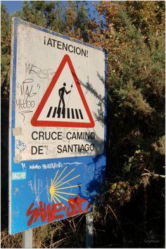 cruze de peregrinos en el Camino de Santiago, The Way  www.turigrino.com