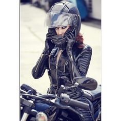 You can look good while riding safe.