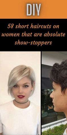 A lot of women feel afraid to get short hair. After all, the hair is our crowning glory.However, contrary to what these women think, short hair is beautiful. #58 #shorthaircuts #absolute #showstoppers Pixie Hairstyles, Trendy Hairstyles, Oscar Fish, Blue Jeep, Inside Plants, Bridal Heels, Fruit Art, Pastel Hair, Hollywood Celebrities
