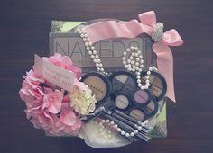 Green & pink theme - Make up set