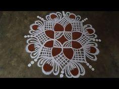 Rangoli Designs Simple Diwali, Simple Rangoli Border Designs, Indian Rangoli Designs, Rangoli Designs Flower, Free Hand Rangoli Design, Small Rangoli Design, Rangoli Designs With Dots, Beautiful Rangoli Designs, Easy Rangoli