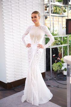 Guiliana Ranaci in Givenchy. I really like this for a wedding!