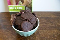 raw chocolate cookies made in the dehydrator