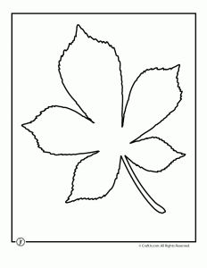Leaf Template Printables - Woo! Jr. Kids Activities