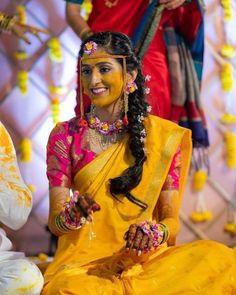 Indian Wedding Theme, African Wedding Attire, Indian Wedding Photos, Bride Photography, Indian Wedding Photography, Engagement Dress For Bride, Bridal Sarees South Indian, Haldi Ceremony, Ceremony Dresses