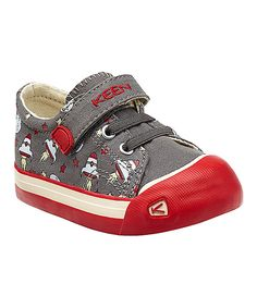 Love this KEEN Gargoyle & Red Rockets Coronado Leather Sneaker - Toddler by KEEN on #zulily! #zulilyfinds