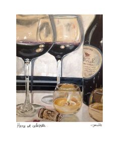 wine. by jodi hills available in print, card and magnet www.jodihills.net also featured in home book - www.tristanpublishing.com