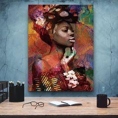 African-American Woman Vector Art, Melanin Art, 2 Beauty Woman, African Art,  Black Lives Matter, Housewarming Gift, Black Woman Art Comic Poster, New Poster, Great Housewarming Gifts, Black Women Art, African American Women, Minimalist Art, Home Wall Art, Beautiful Artwork, African Art
