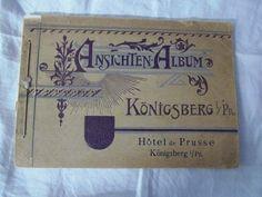 Ansichten-Album Königsberg i/Pr. - Hotel de Prusse - Rarität in Antiquitäten & Kunst, Antiquarische Bücher, Geografie & Ethnografie