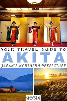 Looking for things to do in Japan that is off the tourist route? Akita in Japan is known for its steamy onsens, beautiful rice paddies, interesting folklore, Sake and more. Check out our travel guide to this prefecture, filled with tips on what to see and do! | #asia #akitatravel #visitjapan