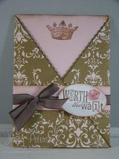 Cute cute cute stampin up baby announcement...