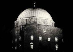Pécs, Dzsámi - Mosque Empire State Building, Taj Mahal, Black And White, Travel, Black White, Trips, Black N White, Viajes, Traveling