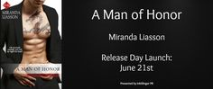 I Love Romance: HAPPY BOOK RELEASE DAY: A MAN OF HONOR (KINGSTON F...