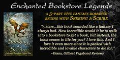 99¢ through June 8th! SEEKING A SCRIBE—start an adventure with dragons, wizards & romance http://amzn.to/1wUEkWO