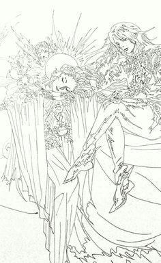 final fantasy xv ffxv logo lunafreya noctis illustration