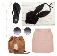 """""""Woman 2"""" by chloe-huguenin on Polyvore featuring Vans, Fragments, Spitfire, UGG and Topshop"""