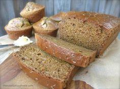 """Bela receita de pão sem glúten. Traduzido do blog """"The Nourishing Home"""". Clique no link para ver como fazer."""