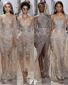 1, 2, 3 or 4?!!! @eliesaabworld Haute Couture SS17 #ElieSaab #FashionWeek  #parisfashionweek #PFW #SS17 #arabic #vibe