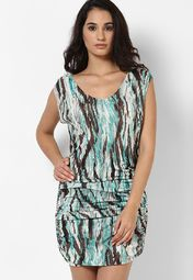 54% OFF on Guess Multi Shift Dress