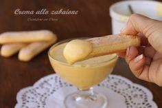 Crema allo zabaione |CuciniAmo con Chicca
