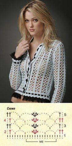 Crochet jacket...♥ Deniz ♥