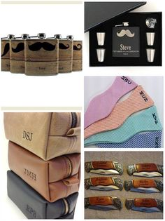 Ideas for gifts for your #Groomsman
