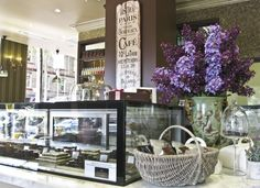 Chocolate shop interior