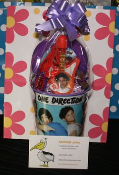 One Direction #lootbags by #Favours Away.
