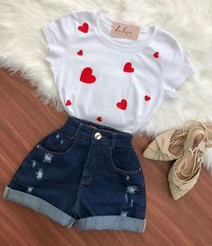 Girls Fashion Clothes, Teen Fashion Outfits, Cute Fashion, Outfits For Teens, Summer Outfits, Cute Comfy Outfits, Girly Outfits, Pretty Outfits, Stylish Outfits