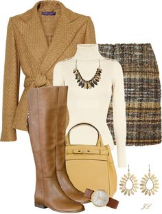 """Butter Toffee"" by jenalind ❤ liked on Polyvore"
