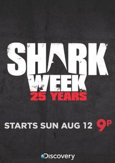 shark week starts tonight!!!