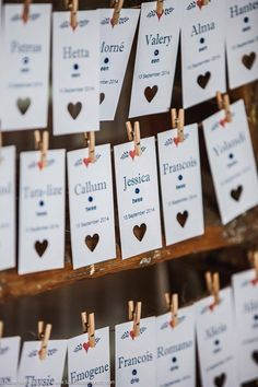 Seating Tags #DIY
