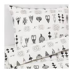 IKEA - SISSELA, Duvet cover and pillowcase(s), Full/Queen (Double/Queen),
