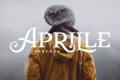 Aprille Typeface by Victor Barac on @creativemarket