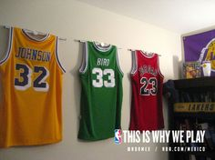 f93bce987 Ultra Mount jersey display hangers help create the ultimate Los Angeles  Laker