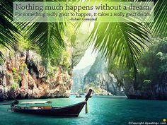Keep Dreaming, Keep Moving, Keep Progressing.