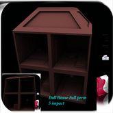 Toy Doll House Full Perm 5 impact AO Uv map